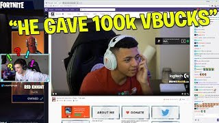 MYTHE SAID NON quand j'ai doué 100k V Bucks! (Fortnite Battle Royale)