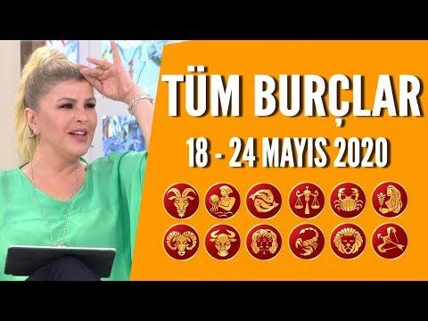 TÜM BURÇLAR | 18 - 24 Mayıs 2020 | Nuray Sayarı'dan haftalık burç yorumları