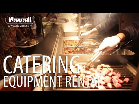 Catering Equipment Rental : Wedding Reception In MCC