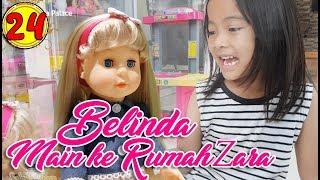 24 Main ke Rumah Zara Cute Boneka Walking Doll Cantik Lucu 7L Belinda Palace