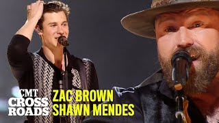 Shawn Mendes & Zac Brown Band Perform 'In My Blood'   CMT Crossroads