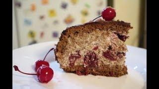 """Торт """"Пьяная Вишня"""" очень ароматный и вкусный торт // очень прост в приготовлении//пошаговый рецепт"""