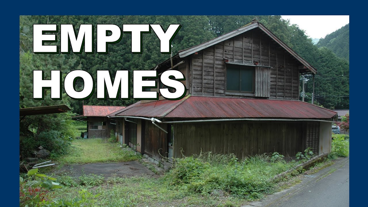 The empty homes of yokosawa village abandoned for Japan homes for sale