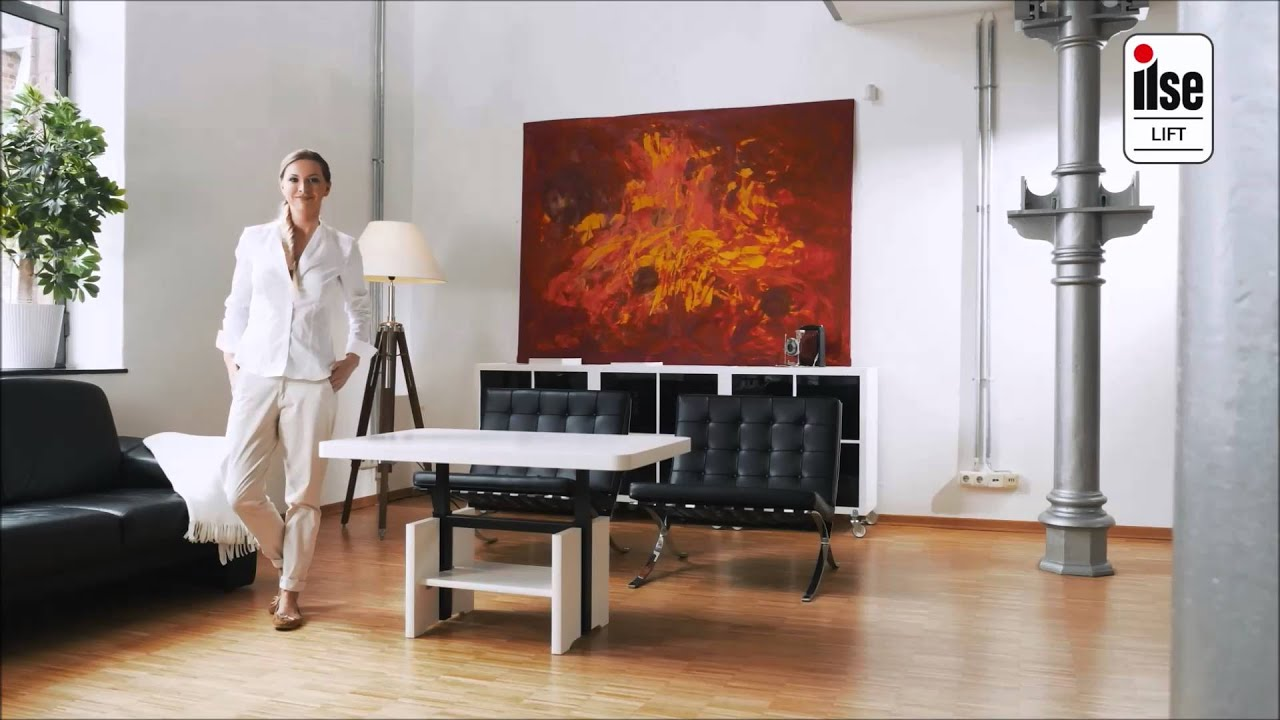 couchtisch mit lift funktion youtube. Black Bedroom Furniture Sets. Home Design Ideas