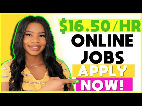 🟢 *Apply NOW!!* $16.50 HOURLY Online Work-From-Home Jobs. Paid Training Starts June + NO Experience!