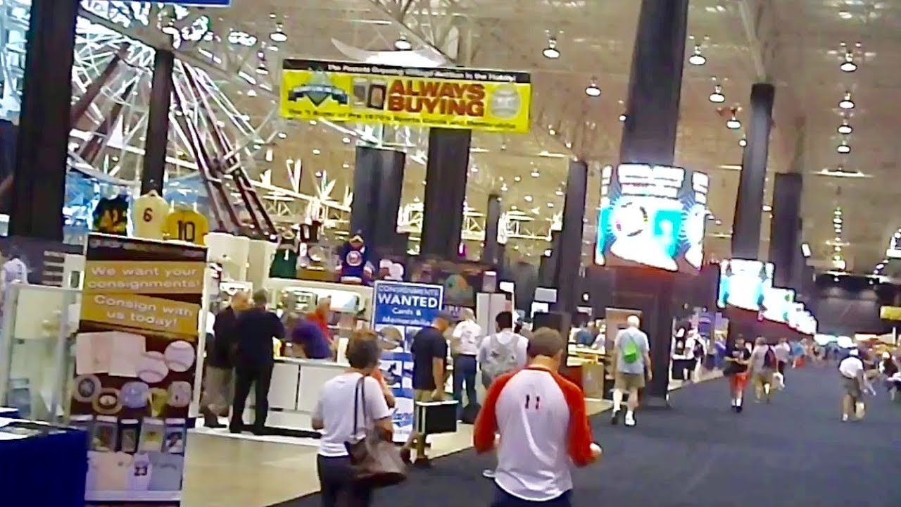 The Worlds Biggest Baseball Card Show 2018 National Sports Collectors Convention
