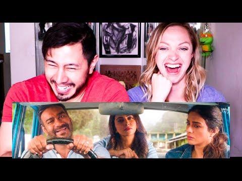 DE DE PYAAR DE   Ajay Devgn   Tabu   Rakul Preet Singh   Trailer Reaction!