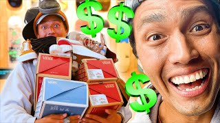 ANYTHING YOU CARRY I'LL BUY CHALLENGE! VANS STORE EDITION! Ft  JOHN HILL