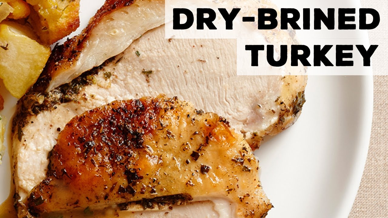 Dry Brined Turkey Food Network Youtube