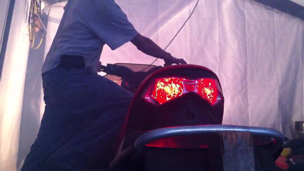 Led Tail Light Wiring Diagram 07 Polaris Free Download Diagrams Fusion 600 Ho Lights Youtube On Trailer For