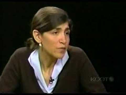 Amy Farber Interview with Charlie Rose pt. 2