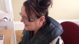 Alison's strap on neck massage