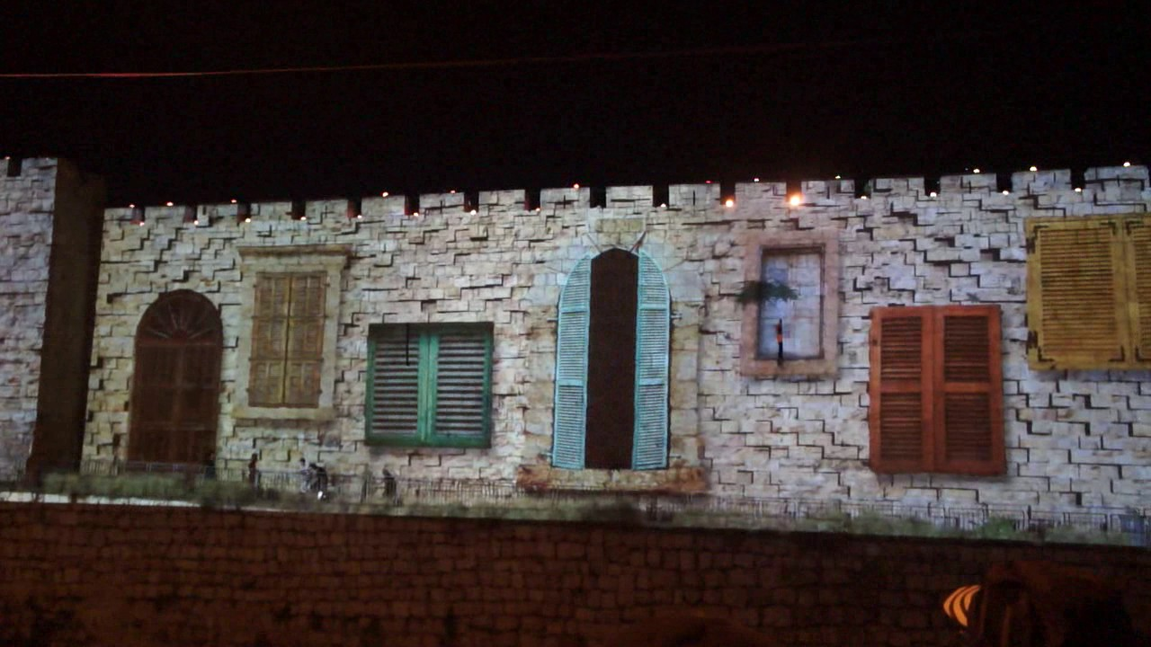 Sound light show jerusalem old city walls 50 years of sound light show jerusalem old city walls 50 years of liberation aloadofball Gallery