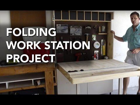 Folding Work Station