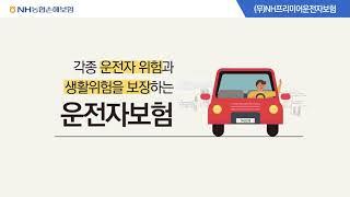 운전자보험 (무)NH프리미어운전자보험