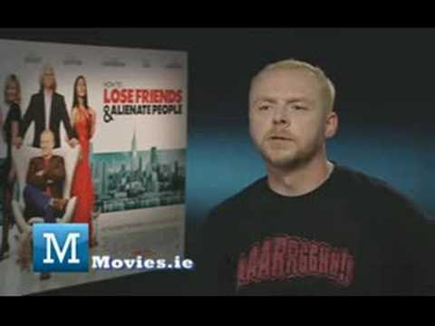 Simon Pegg Interview - PAUL, Tintin, Star Trek, Spaced & How To Lose Friends & Alienate People