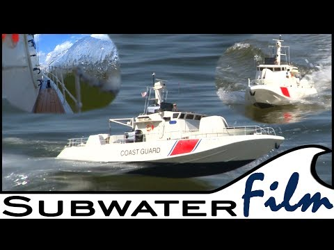 RC BOAT | Extremly FAST Coast Guard Vessel 🚤 Offshore in the Baltic Sea