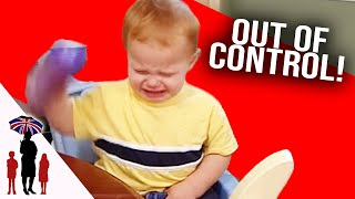 Police Officer Can't Control His Kids - Supernanny US