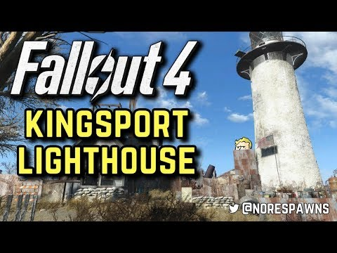 Fallout 4 - Kingsport Lighthouse Detailed Tour