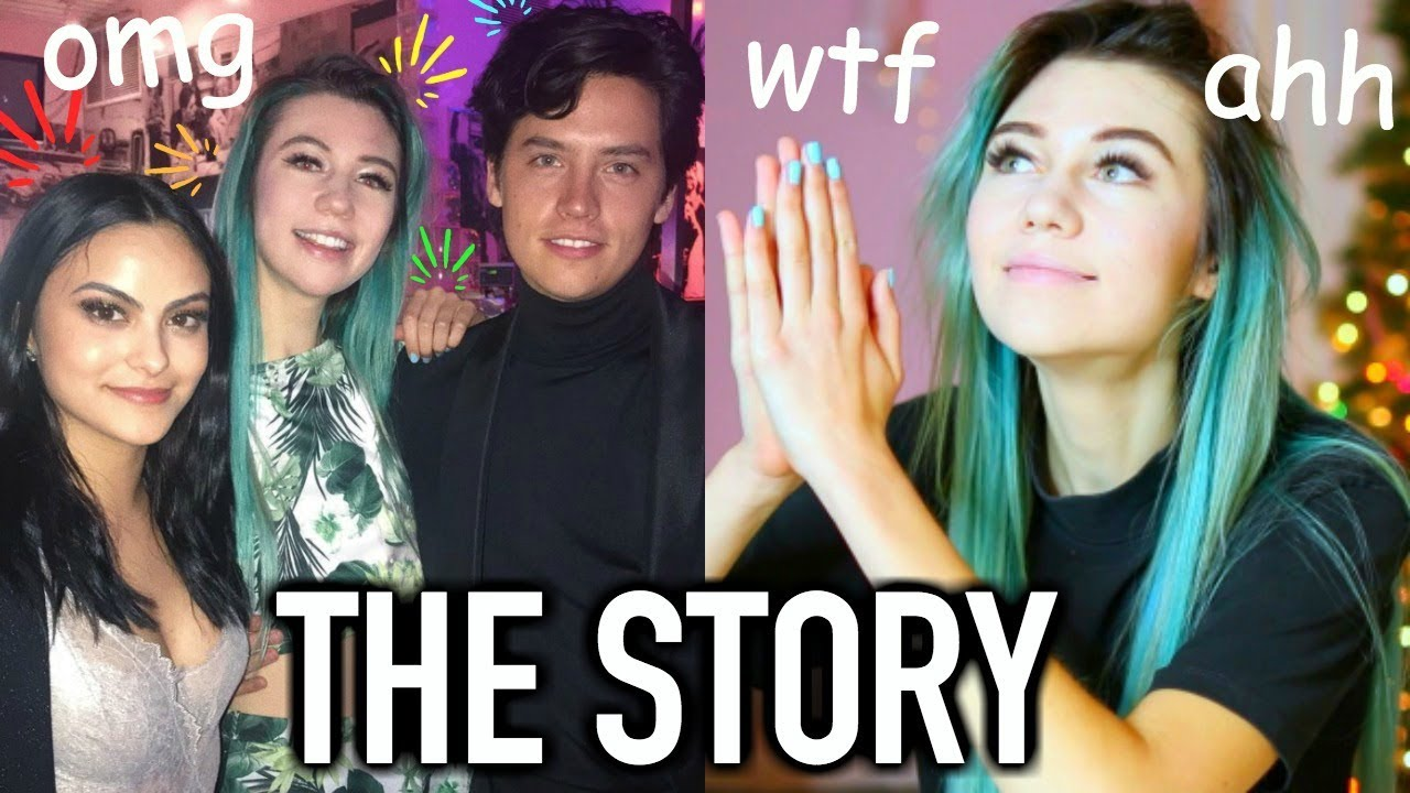 The Story Of Meeting Cole Sprouse And Camila Mendes Youtube