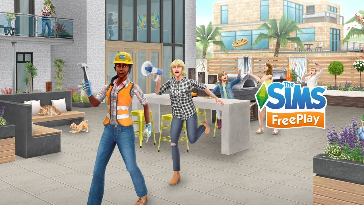 Sims FreePlay Update 5 36 - Home Makeover – Firemonkeys