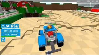 Farming Simulator - IM A CROP BOSS! -ROBLOX - 2018