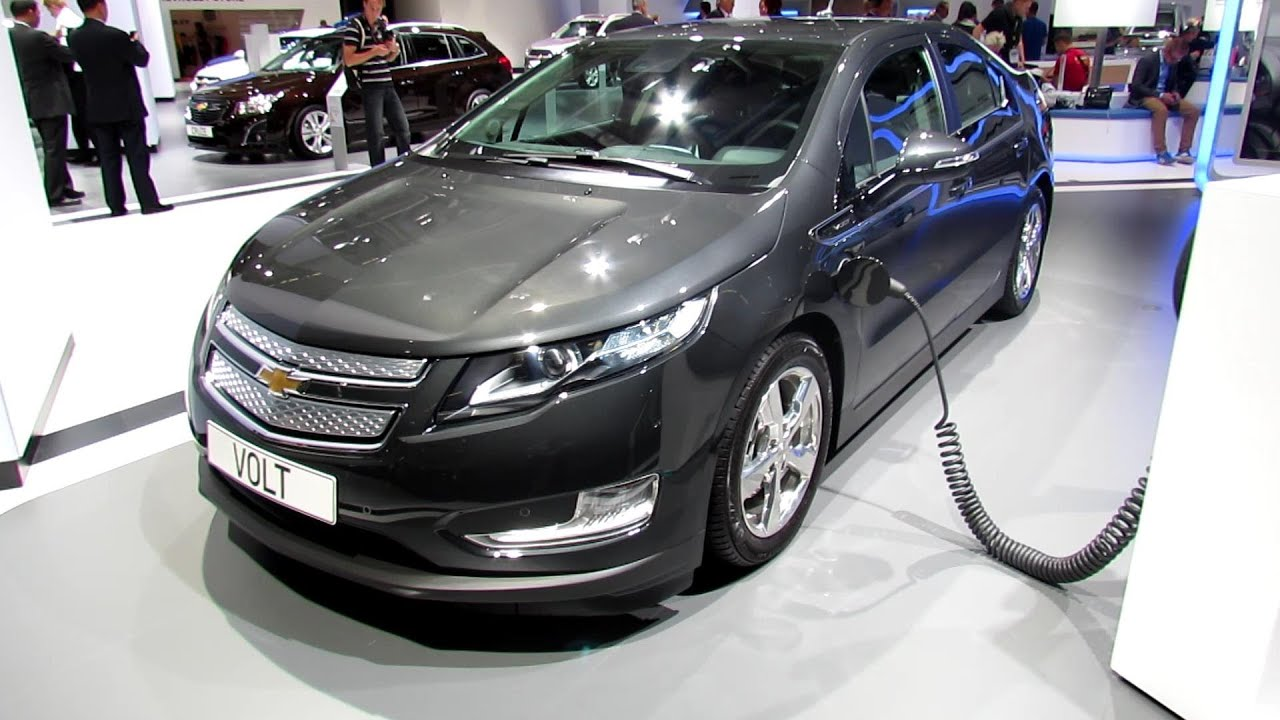 2014 Chevrolet Volt   Exterior And Interior Walkaround   2013 Frankfurt  Motor Show   YouTube