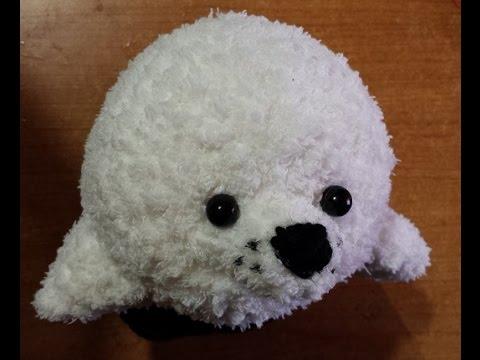 Tutorial Uncinetto - la foca amigurumi - sello crochet ...
