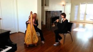 Angels Of Venice performing Pachelbel's Canon, by Harpist Carol Tatum & Flutist Susan Craig Winsberg