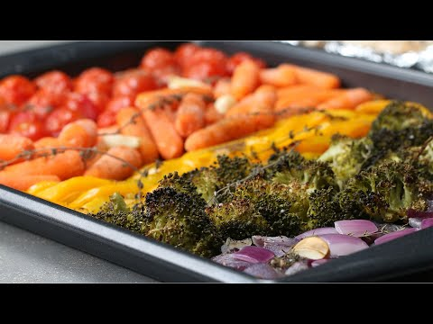 Roasted Veggie Recipes