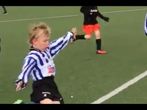 Is this the next MESSI??? Dirk Kuyt's son, Aidan | 2017