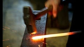 Blacksmith demo - candle holders - Part 1 of 2