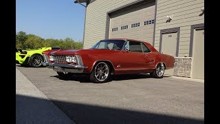 1964 Buick Riviera Custom in Coral Mist Paint & Engine Sound on My Car Story with Lou Costabile