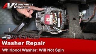 Washer Repair - no spin, transmission coupling- Whirlpool,Maytag,Roper, KitchenAid LSN1000KQ0
