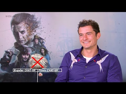 Orlando Bloom's Pirate Pick Up Lines Will Shiver Your Timbers