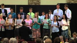 he will hold me fast lighthouse baptist church teen choir