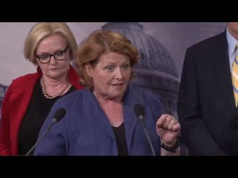 U.S. Senator Heidi Heitkamp Urges Republicans to Identify a Bipartisan Solution to Pension Cuts