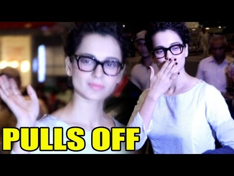 Kangana Ranaut Does It Again, Pulls Off Her Airport Look With Ease!