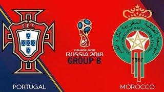 Portugal vs Morocco live 2018 fifa world cup