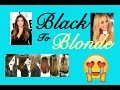 How To Get Khloe Kardashian Hair | From Black To Blonde | NO DAMAGE
