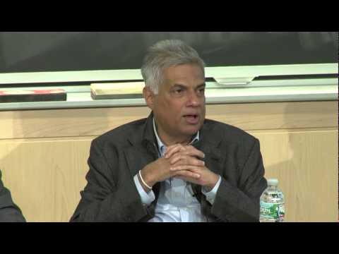Ranil Wickramsinghe Speech in MIT