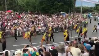 MEVA MARCHING BAND 61'DESFILE DE SILLETEROS 2018 ( LA RASPA )