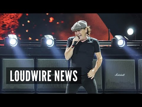 AC/DC Legend Brian Johnson in Scary Race Car Accident