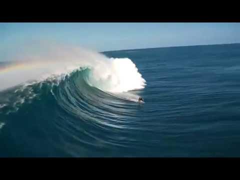 גלישה על גלים גדולים באמת