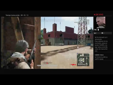 Transmisión de PS4 en directo de matutecarniel