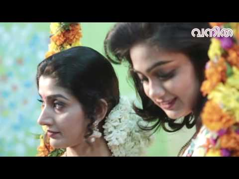 Divya Unni and VIdhya Unni Cover shoot video for Vanitha
