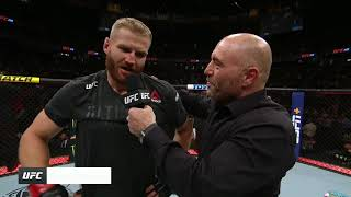 UFC 239: Jan Blachowicz Octagon Interview