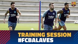 Recovery work ahead of LaLiga opener