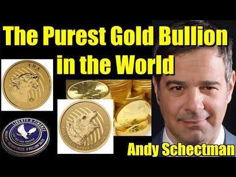 The Purest Gold Bullion in the World  + Where's the Silver? | Andy Schectman