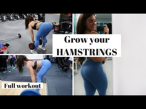 Hamstring workout | My go to session for hamstring growth